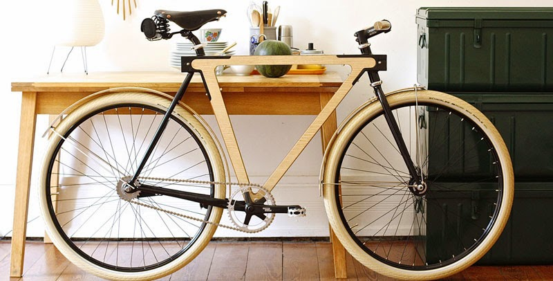 bici de madera automontable Sandwichbike