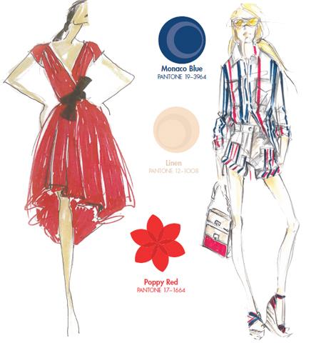 2013 модерни цветови комбинации с червено