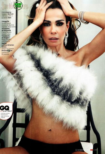 Todas as fotos de Luciana Gimenez na revista GQ de setembro de 2013; confira