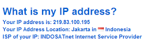 check your ip