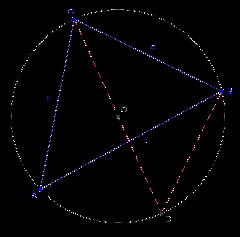rumus sinus segitiga lancip