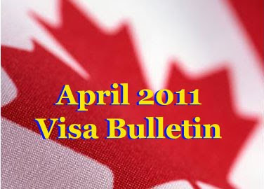 April 2011 Visa Bulletin is now out!