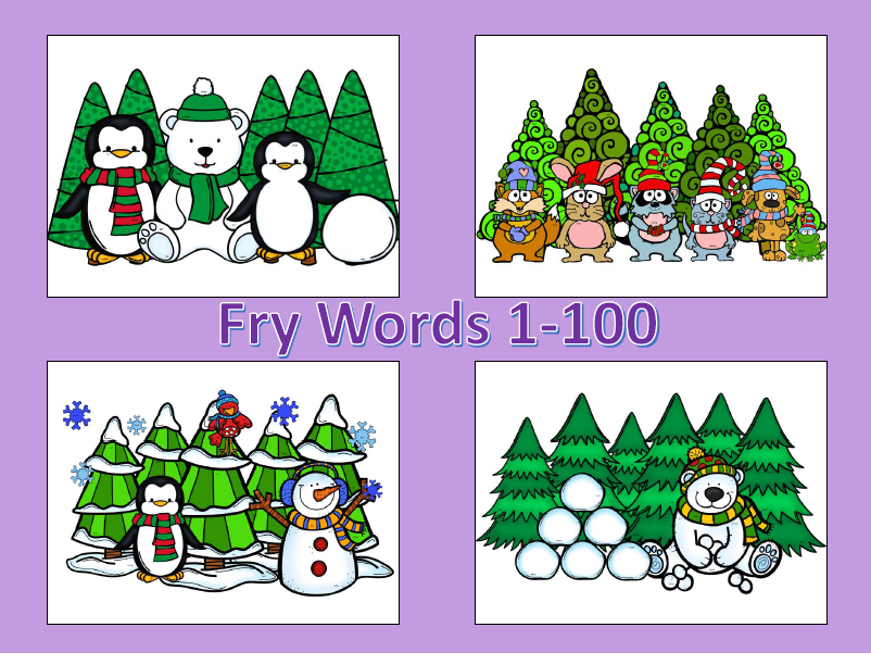 http://www.teacherspayteachers.com/Product/Winter-Spot-and-Jot-Fry-Words-BUNDLE-1056263