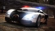 Cop Car Bugatti Veyron