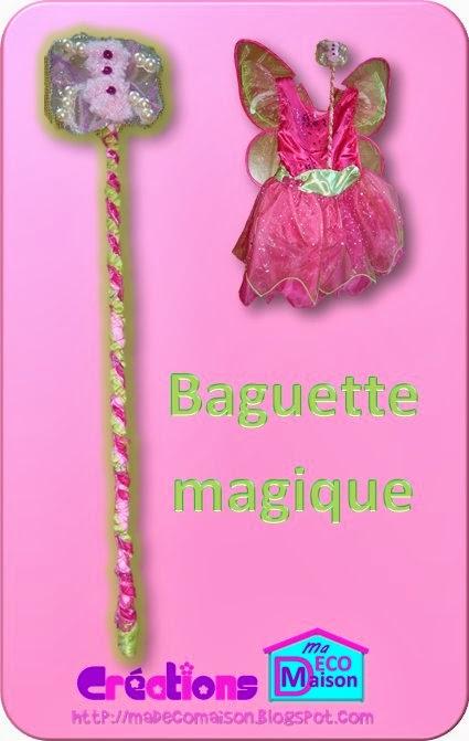 Baguette magique de fée papillon 1
