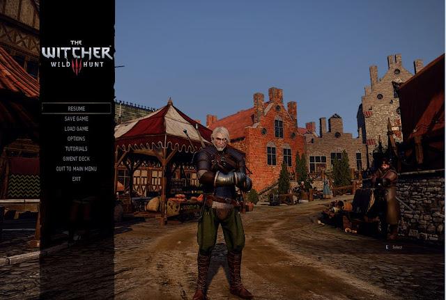 AMD GPU witcher 3 dark and cold graphics