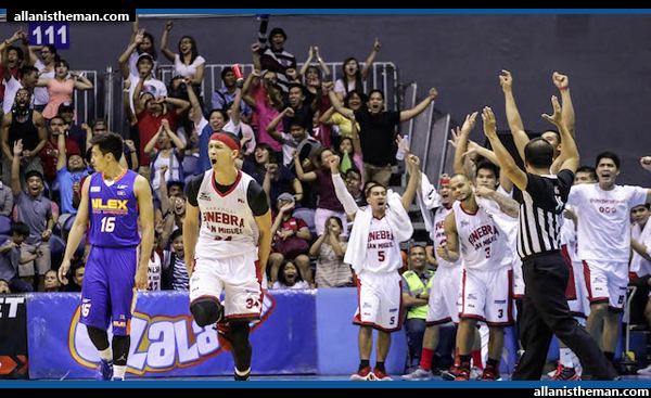 PBA: Barangay Ginebra overhauls 22-point deficit, beats NLEX (FULL GAME REPLAY VIDEO)