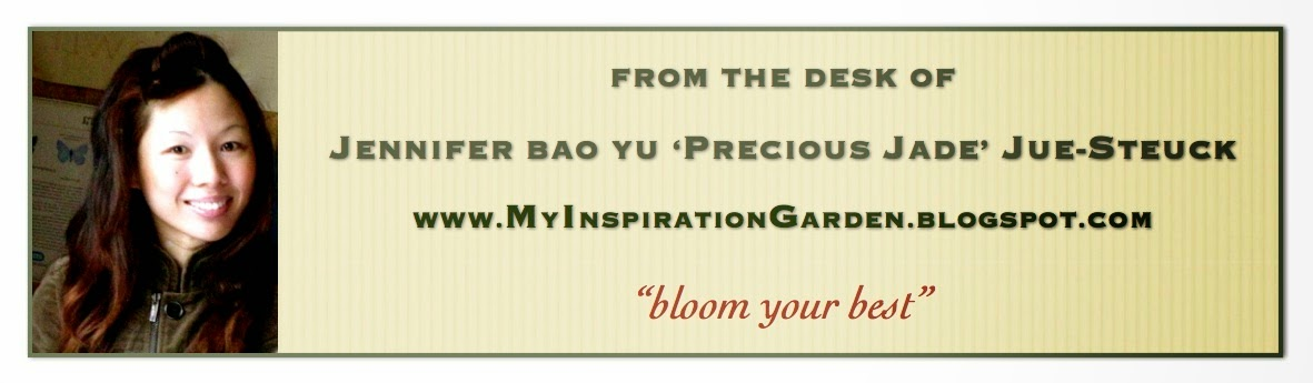 What will you plant in your inspiration garden...?