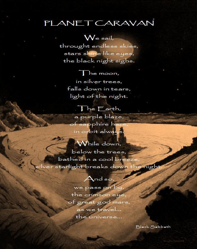 Planet Caravan Tab by Black Sabbath - Tony Iommi ...