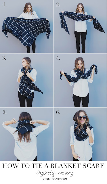 Ioanna's Notebook - How to wear fall scarves + favorite shopping picks