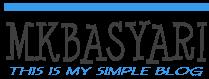 Mkbasyari Blog