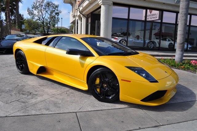 Lamborghini Newport Beach Blog 2007 Giallo Orion Lamborghini Murcielago Lp640