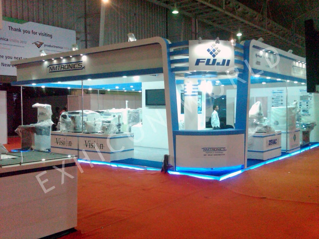 Exhibition Stall Fabricators In Lucknow : Stall design designers and fabricators in delhi