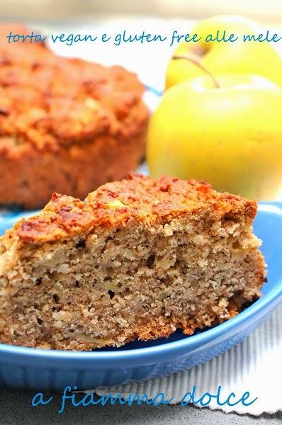 torta vegan e gluten free alle mele