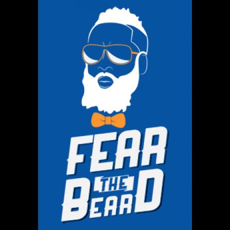 James harden fear the beard logo - photo#6
