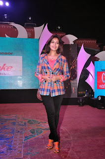 Actress Colors Swathi New Pictures in Tight Jeans at Mirchi Campus Rockstars Grand Finale  0052.jpg