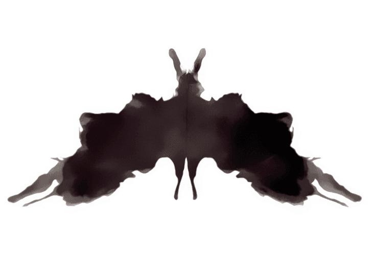 Lámina de Rorschach 5