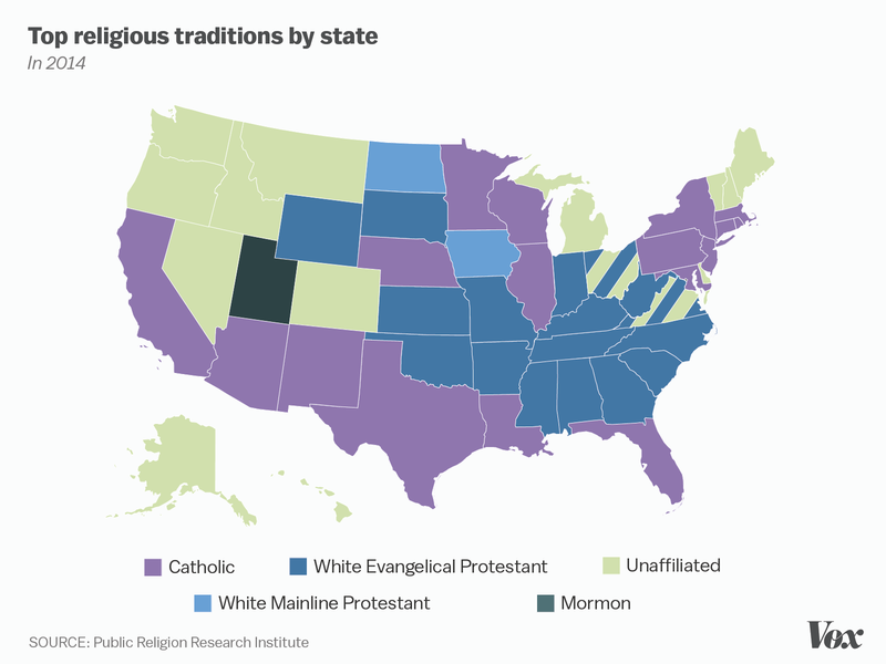 Letters From A Farmer In Ohio Largest Three Religions In Each State - Top three religions in the world