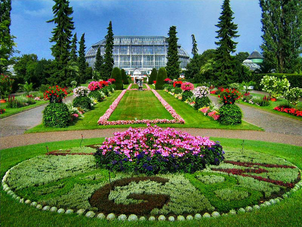 Five botanical garden in the world tourism update for Botanical garden design