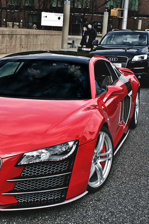 audi custom cars red modified expensive piece 4loveimages. Black Bedroom Furniture Sets. Home Design Ideas