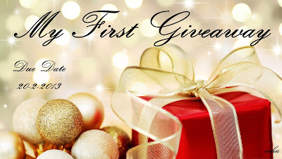 My First Giveaway by Echa