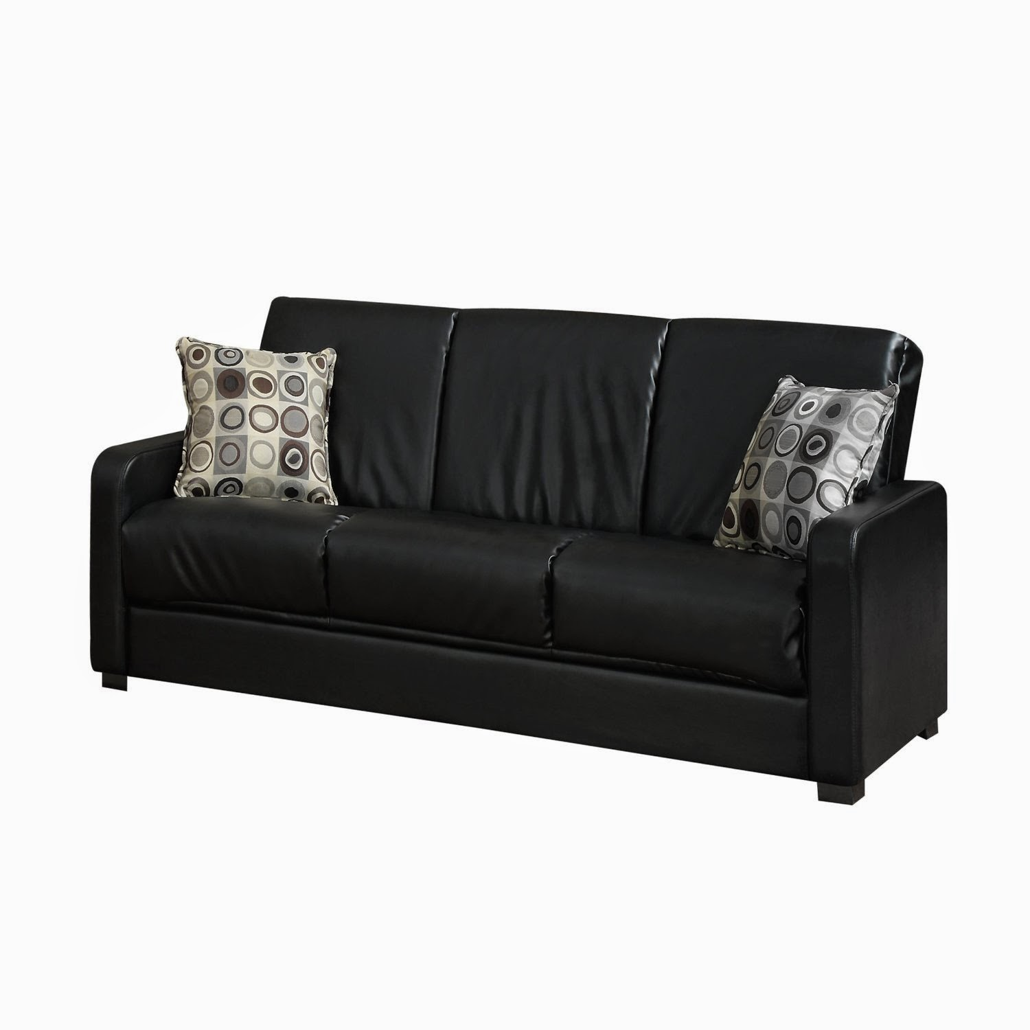 Leather Pull Out Sofa Vivo Faux Leather Pull Out Sofa