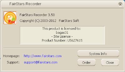 FairStars Recorder 3.50 Full Serial 3