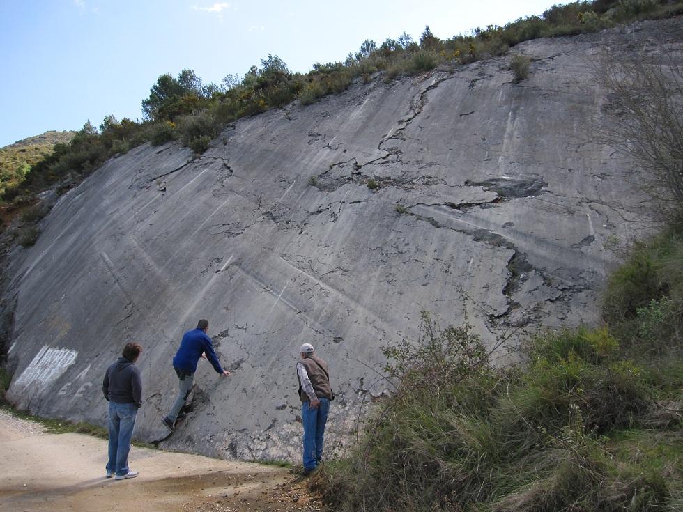 Paret d'escalada font dels Olbis