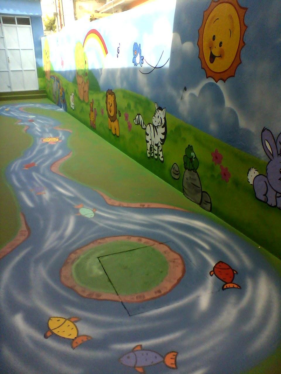 Will Arte Graffiti Pintura 3d Saindo Da Parede Para O Chão