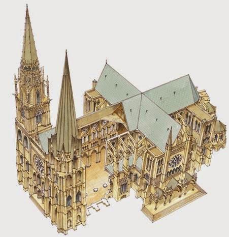 Catedral de la Asunción de Nuestra Señora Chartres. Chartres Cathedral