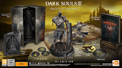 Pre Order Editions Announced For Dark Souls III - We Know Gamers