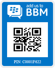 Follow us on BBM