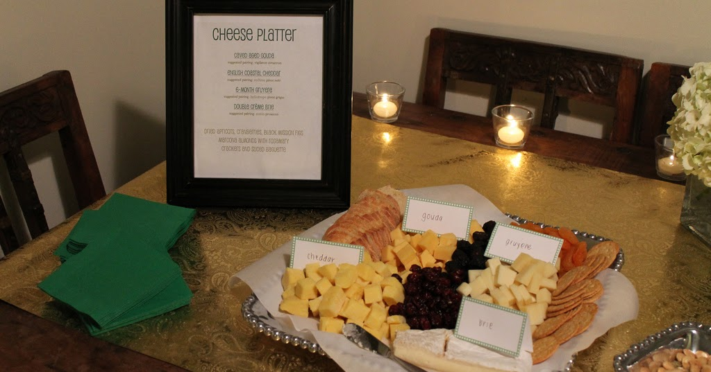 Bourbon And Bleu Wine And Cheese Platter