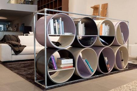 Muebles con material reciclado y for Muebles con material reciclado