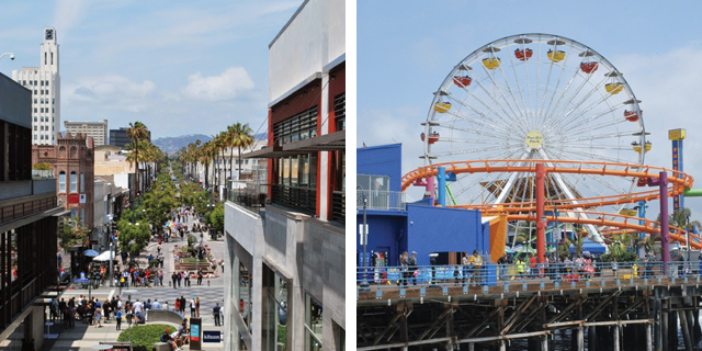 Los Angeles in One Day: Visiting Santa Monica | EmBusyLiving.com