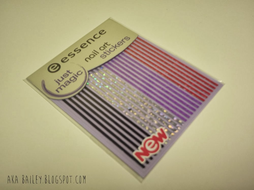 Essence nail art stickers, strips of nail stickers