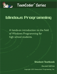 Teen Coder Windows Programming  Homeschool Programming