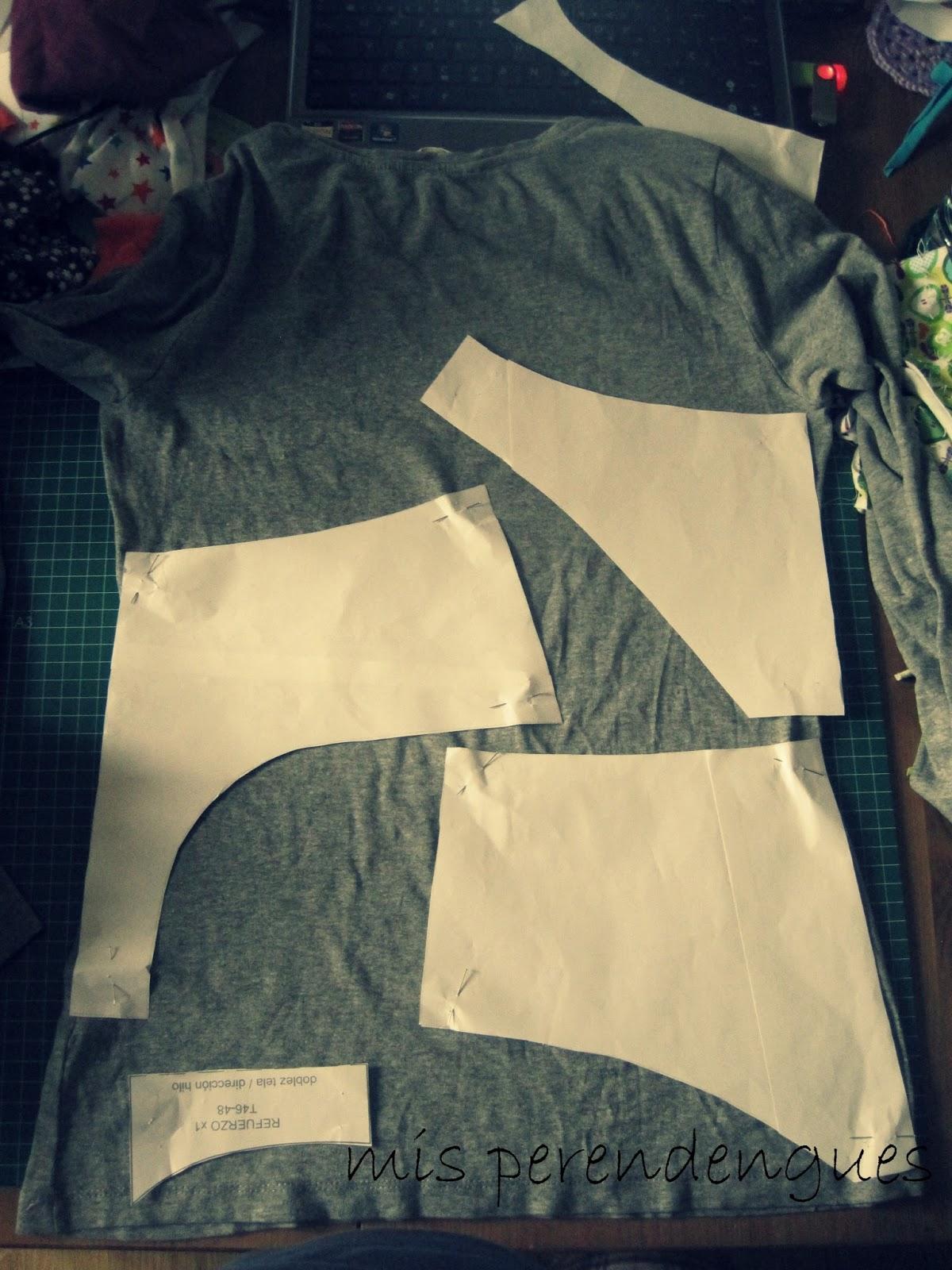 Camiseta y mis bragas en