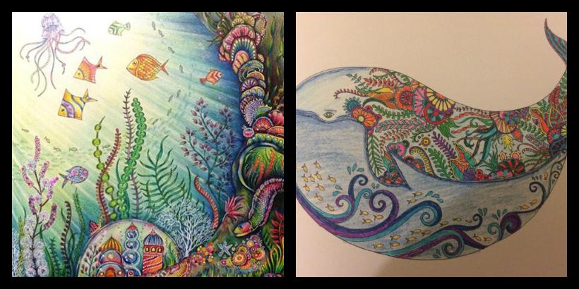 Nuevo Libro Para Colorear De Johanna Basford Lost Ocean