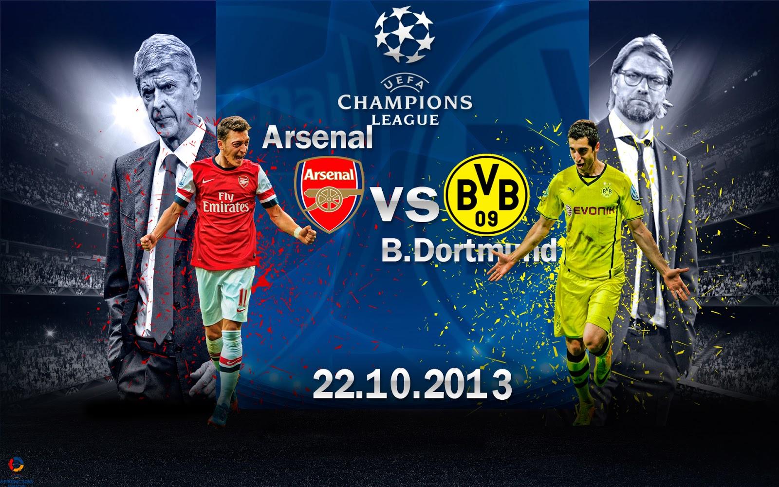 bvb arsenal champions league