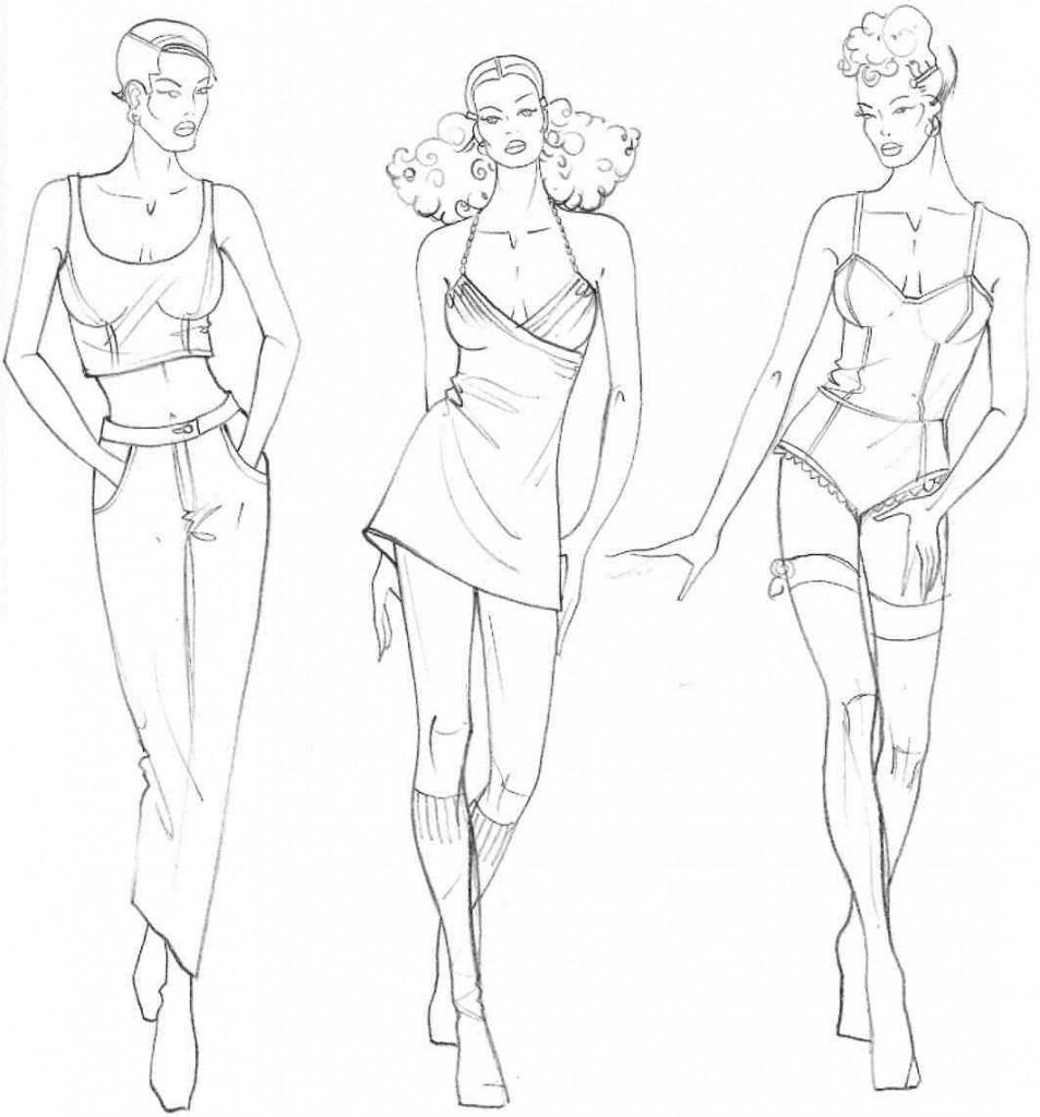 В этом уроке представлены модельные ...: w1staria.blogspot.com/2012/11/fashion-15.html