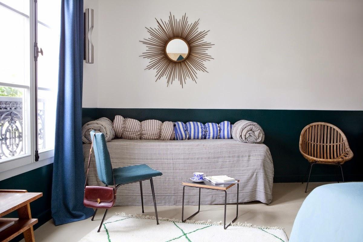 lila and cloe hotel henriette by paris designer vanessa scoffier a boho chic hotel in paris. Black Bedroom Furniture Sets. Home Design Ideas