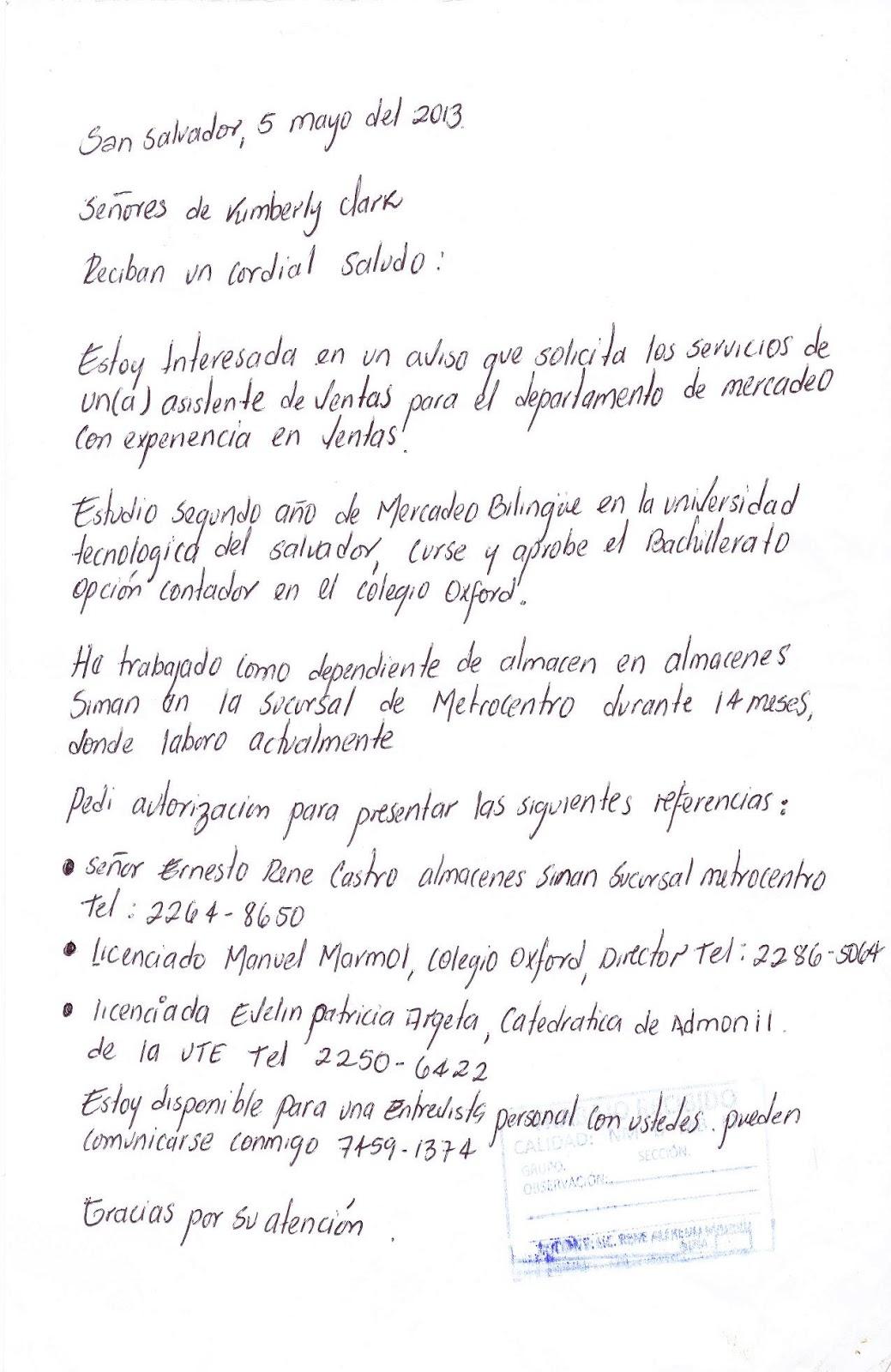 PORTAFOLIO DE DOCUMENTOS TÉCNICOS ADMINISTRATIVOS: La Carta
