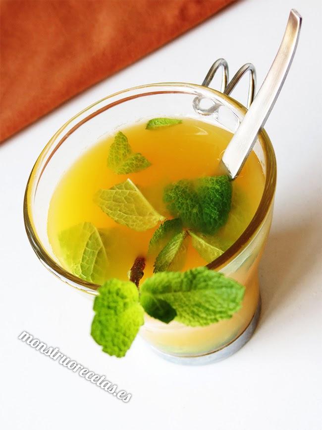 Zumo de cítricos. Bebida refrescante