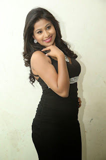 Manali Rathod in Spicy Tight Black Gown Lovely Beauty Spicy Pics