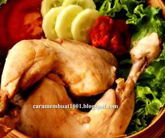 Resep Cara Membuat Ayam Pop