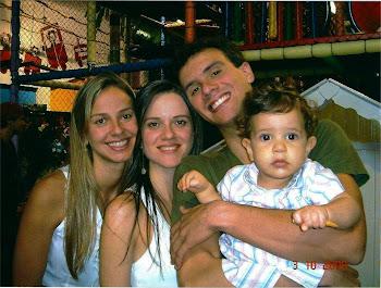 Mariana, Candida, Gabriel Kurtz e Davi