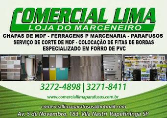COMERCIAL LIMA LOJA DO MARCENEIRO