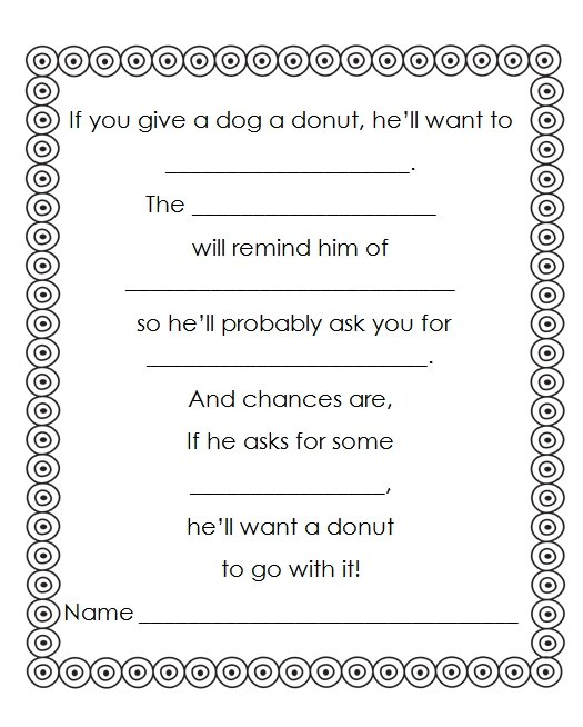 First Grade Gallery Lessons for Little Learners Reading Month – If You Give a Mouse a Cookie Worksheets