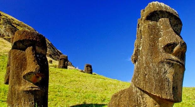 Ternyata Patung-Patung Kepala Pulau Paskah Memiliki Tubuh